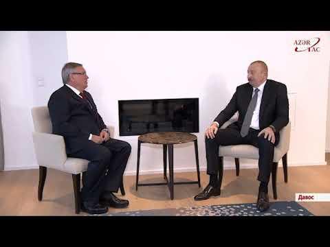 Встреча с президентом–председателем правления Банка ВТБ в Давосе