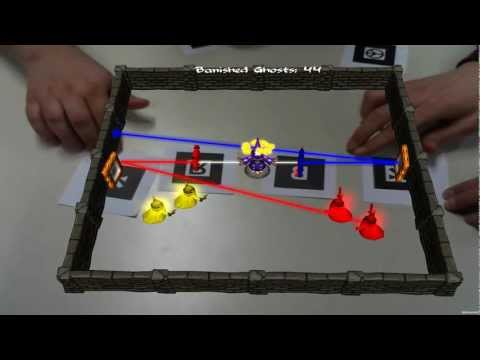 How to Play Wizard Defense: A Co-op Augmented Reality Game