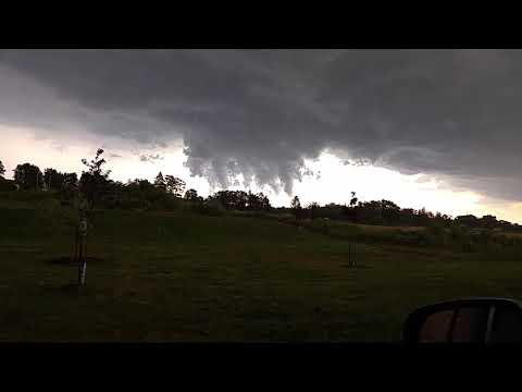 Grimsby ontario storm august 1st 2017