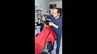 Kıvırcık Saçlı Çocuk Traşı