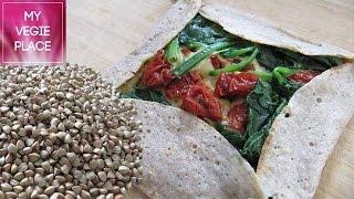 Crepe Salada de Trigo Sarraceno Sin Gluten | Vegano y Sano