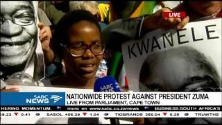 Latest on anti-Zuma protests outside Parliament: Lukhanyo Calata