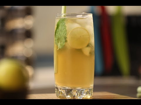Jasmine Iced Tea by Sanjeev Kapoor