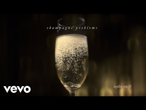 Taylor Swift - champagne problems (Official Lyric Video)