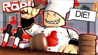 Roblox Adventures - ESCAPE AN EVIL BUTCHER! (Escape the Butcher Shop Obby)