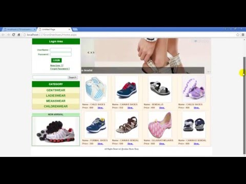online shopping website project Online shopping website project 2325 words | 10 pages project  proposal for online shop implementation by asamoah.