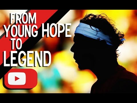 Rafael Nadal - From young hope to legend • 100 points ᴴᴰ