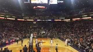 Andrew Wiggins Buzzer Beater vs Phoenix Suns 01/24/2017