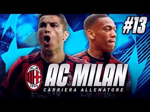 FIFA18 CARRIERA ALLENATORE #13 - CR7 AL MILAN?! UNA VENDITA DA 100 MILIONI