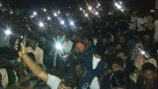 Vijay Support for Jallikattu at Marina Beach | Protest Jallikattu | Vijay at Marina | Ban Peta