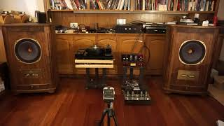Guitar & cello_Tannoy Canterbury SE_ 2A3 amp with Hashimoto output trans & choke