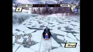 Sled Storm (PS1) - 02 - Open Mountain - Stage One (Part 2)