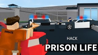 How to Go Through Walls Prison Life 2 0 in Roblox (Using Exploit)