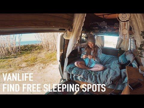 Van Life • How To Find Free Parking Living In A Van