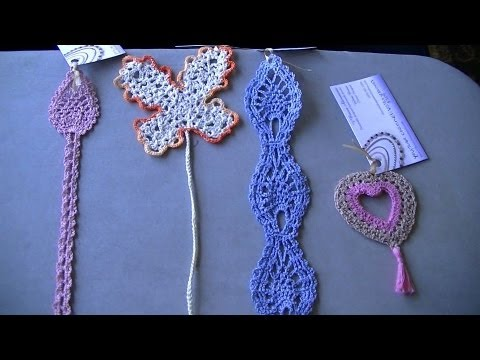 Youtube Crocheting : Crochet Bookmark Swap - YouTube