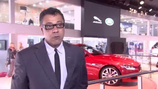 Jaguar Land Rover at the Delhi Motor Show 2016 - Jaguar Rohit Suri | AutoMotoTV