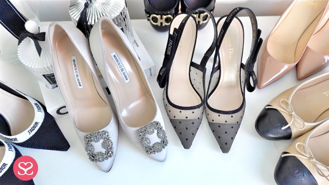 competitive price 65f93 0122a NEWEST DESIGNER SHOES COLLECTION for 2019: J'Adior Slingback, Chanel,  Louboutin, Ferragamo...