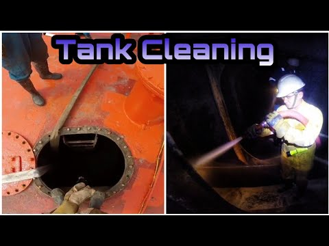 How to clean Ballast Tank On Tanker Ship | Cuci-cuci tangki ballast kapal