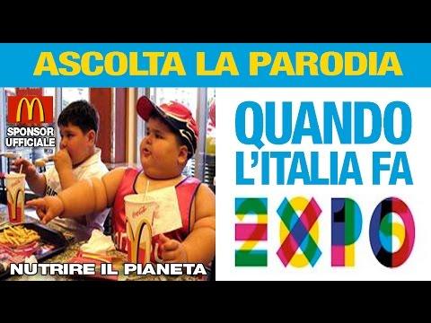 QUANDO L'ITALIA FA L' EXPO - di Andrea Tosatto