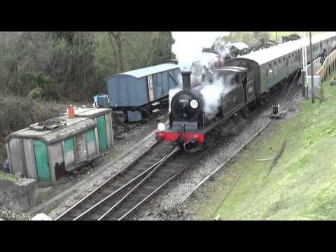 Swanage Railway Spring Steam Gala Friday 8th April 2016