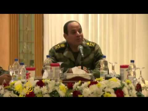 Leaked video: Egypt military discuss media clampdown