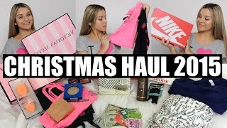 Christmas Haul 2015 | Aidette Cancino