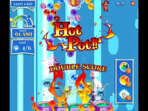 Bubble Witch Saga 2 Level 1647 - NO BOOSTERS (FREE2PLAY-VERSION)