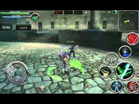 Avabel Online PvP: Geo Dancer Vs. Dark Pain #1