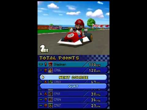 Mario Kart DS All-Cup Tour Mirror Mode
