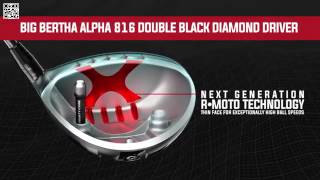 キャロウェイ Big Bertha Alpha 816 Double Black Diamond ドライバー