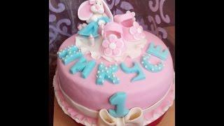 Как сделать торт для девочки