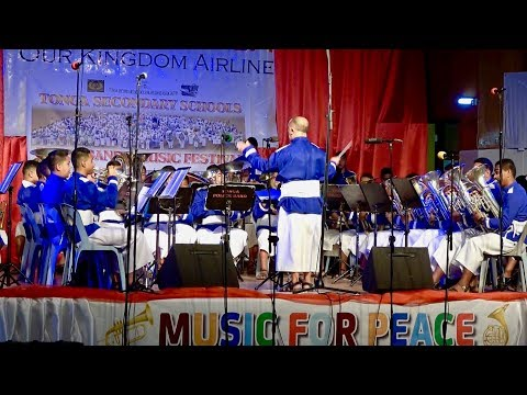 Opening - Music For Peace - Tonga Secondary Schools Brass Band Festival