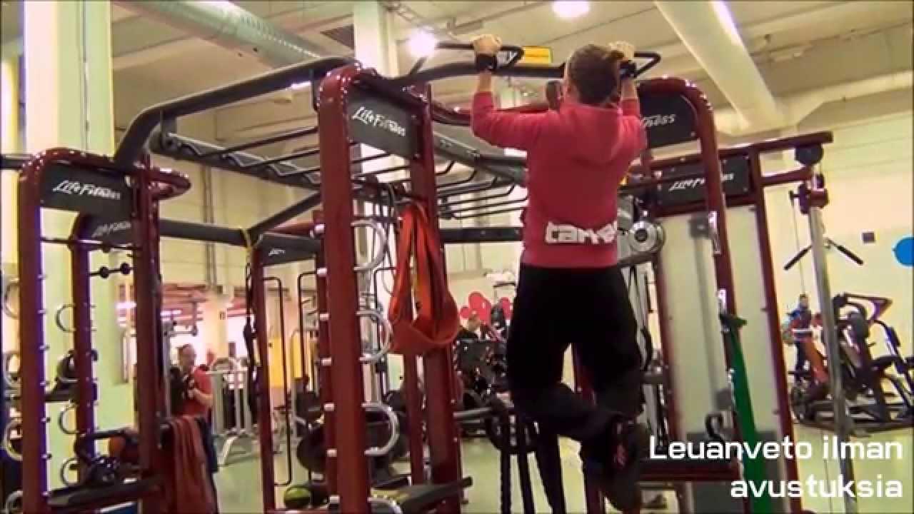 Leuanveto Harjoittelu