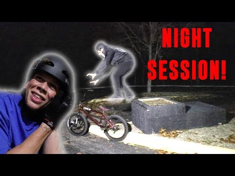 LATE NIGHT BMX STREET MISSION!