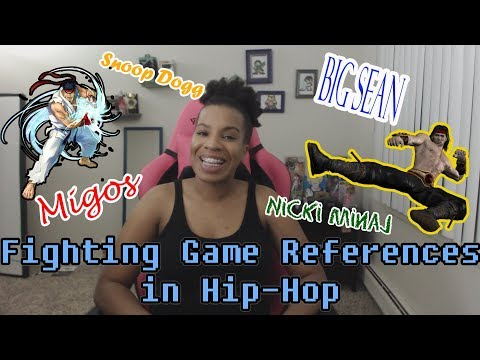 Fighting Game References in Hip Hop