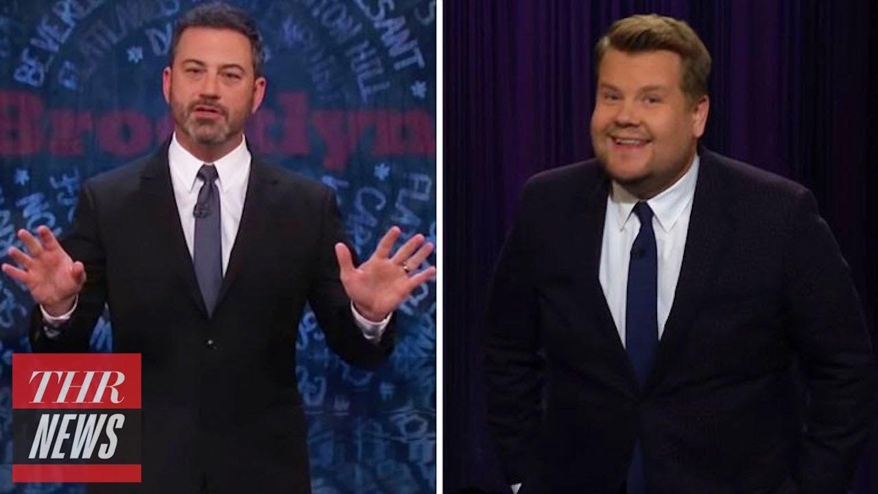 Jimmy Kimmel & James Corden Weigh In on Trump's 'The Republican Club' Portrait | THR News