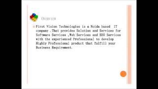First Vision Technologies -- Website Design and development In Noida