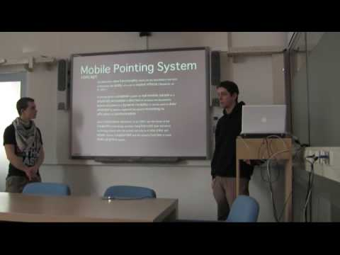 Multimodal Interaction (DG 303, 2009), Presentation 2