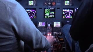 Gulfstream G200 Take-off at Vnukovo