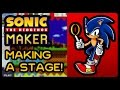 Sonic The Hedgehog Maker - Making A Stage! (1080p/60fps)
