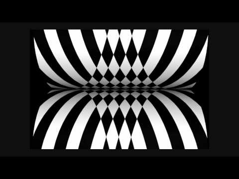 Electronic funk Circle X, op-art