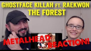 The Forest - Ghostface Killah (REACTION! by metalheads)