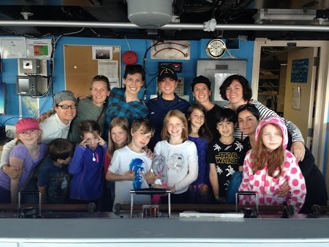 Queen Anne Elementary Students tour NOAA ship Ronald H  Brown