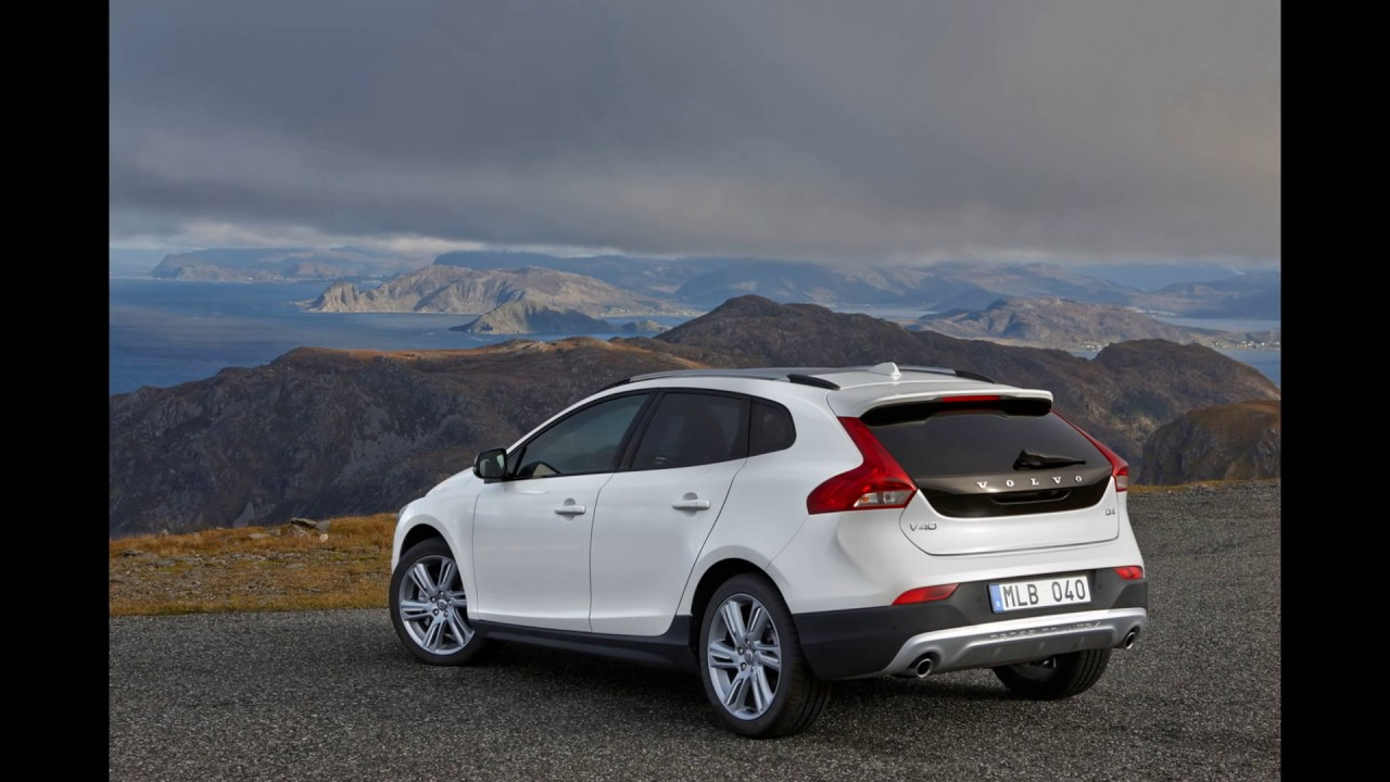 In The 2018 Volvo All New V40 Cross Country