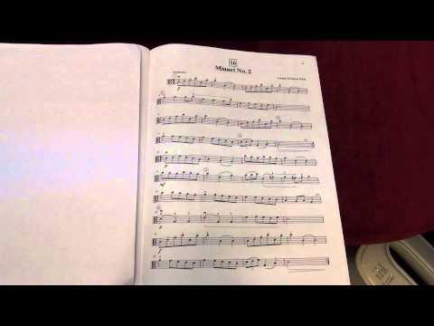 Suzuki Viola School Vol.1 No.16 Minuet No.2