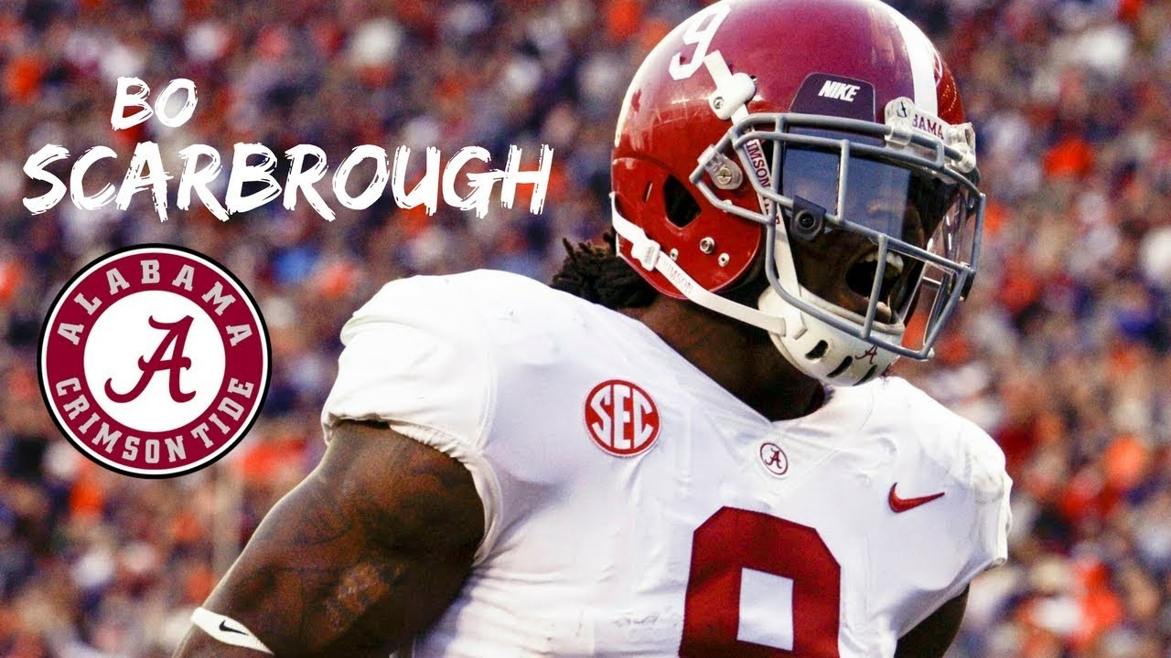 sports shoes c1243 5d429 Bo Scarbrough || Alabama Career Highlights || 2015 - 2018