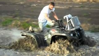 black mamba atv tires in action part 3 mud ridin
