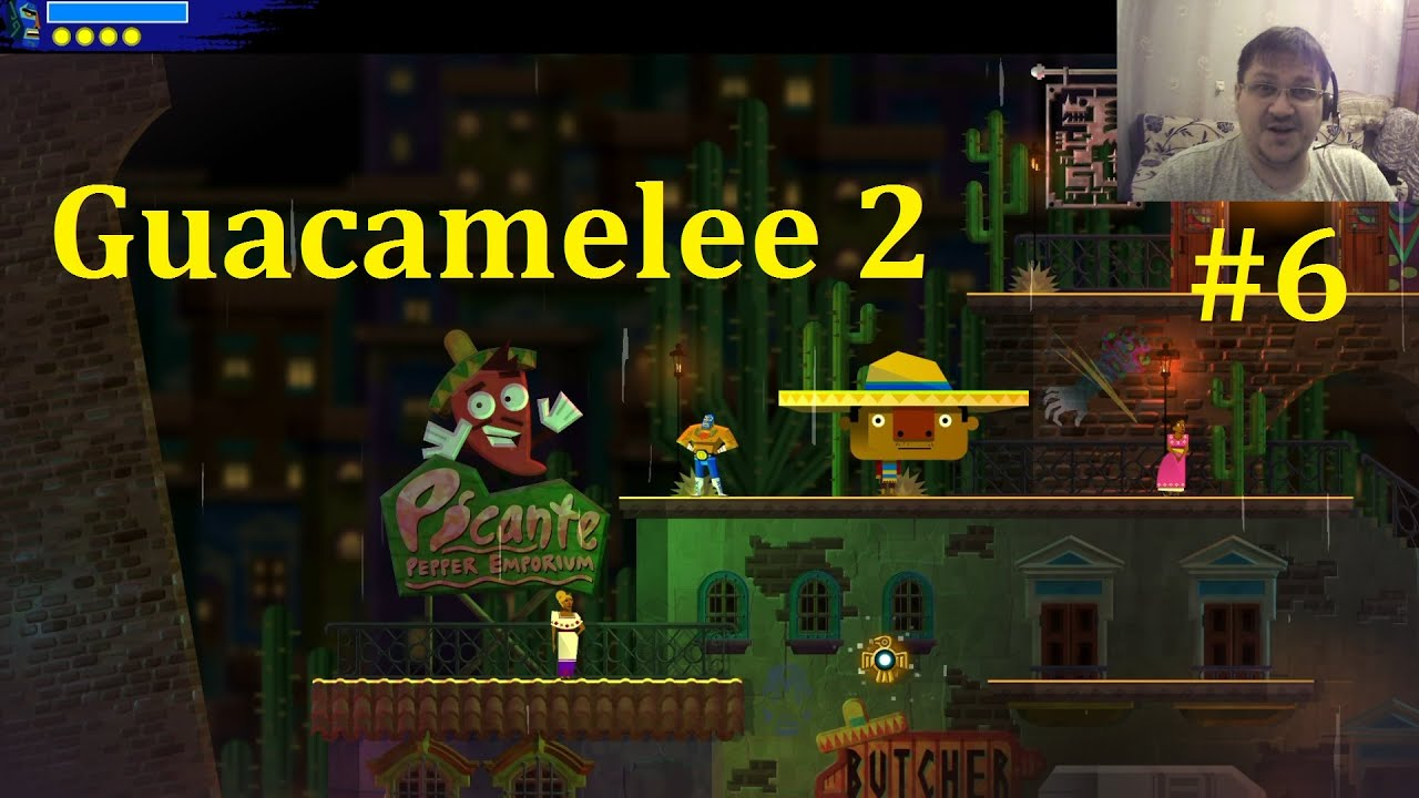 Guacamelee 2 Прохождение ► Тащим реликвию #6