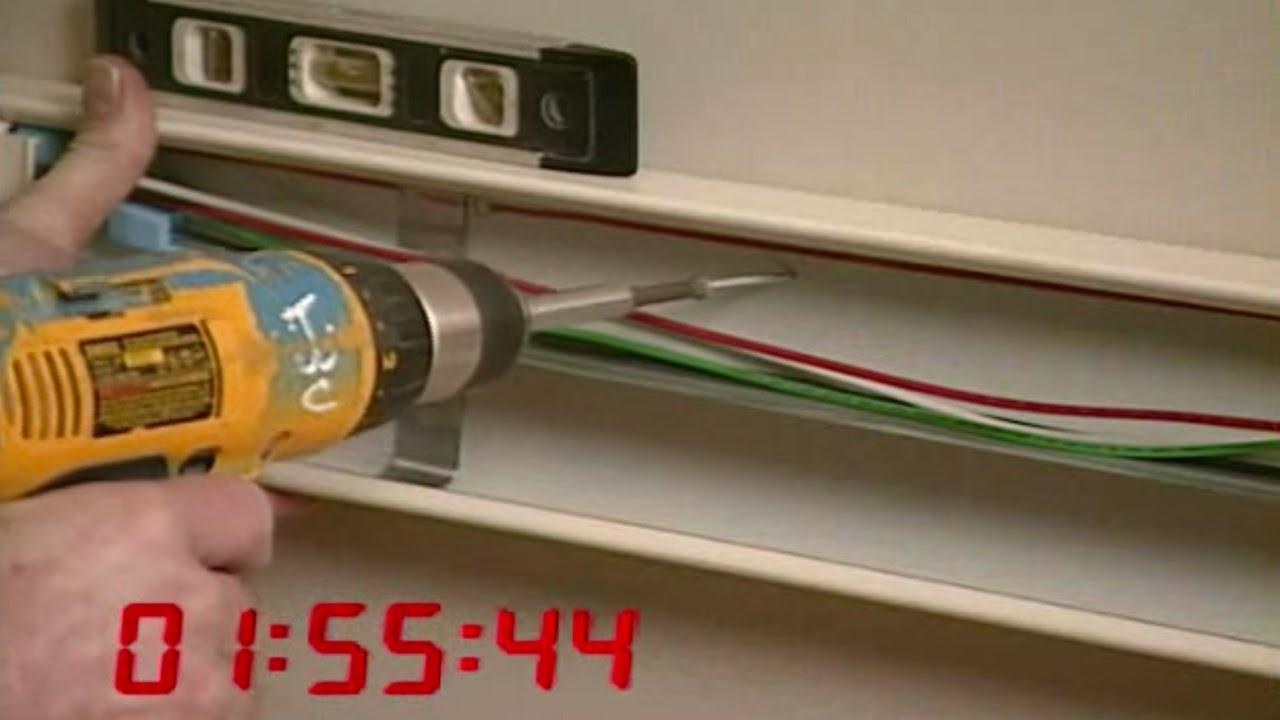 Wiremold: Prewired vs Component Raceway - YouTube