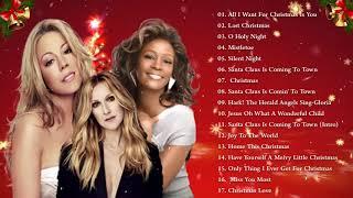 Whitney Houston, Mariah Carey, Celine Dion Christmas Music 2020 ❅ Best Christmas Songs Ever